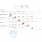 Турнирная таблица Дзержинский